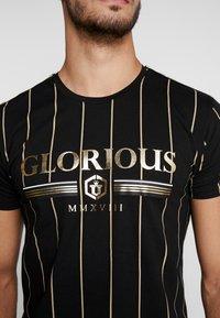 Glorious Gangsta - DERBAN - T-shirt con stampa - black - 5