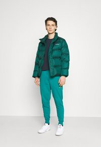 New Balance - ESSENTIALS EMBRIODERED PANT - Tracksuit bottoms - team teal - 1