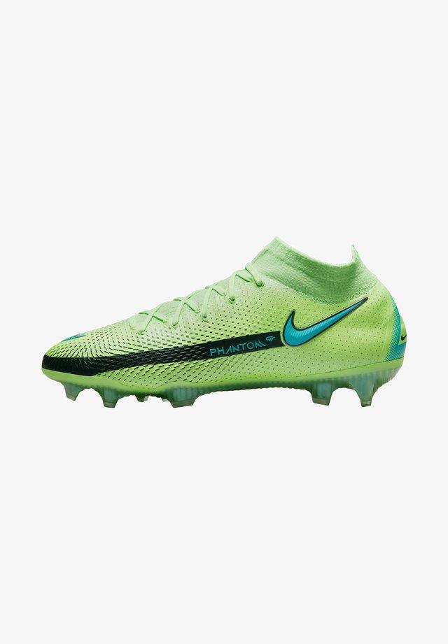 Voetbalschoenen met kunststof noppen - grün