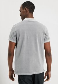 Marc O'Polo - SHORT SLEEVE BUTTON PLACKET - Polo - light grey - 2