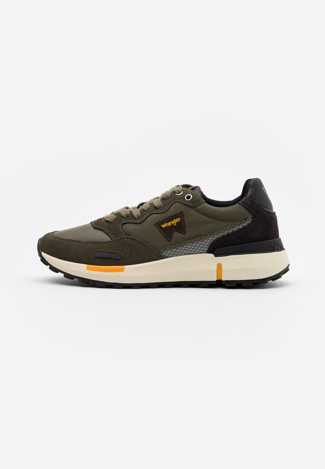 ICONIC 70 - Sneakersy niskie - military/dark brown/ochre