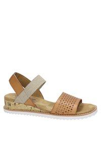 BOBS from Skechers - KISS - Wedge sandals - cognac - 5