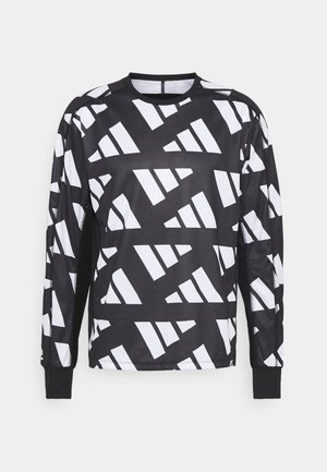 CELEB  - Long sleeved top - black/white