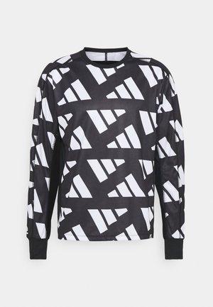 CELEB  - Langarmshirt - black/white