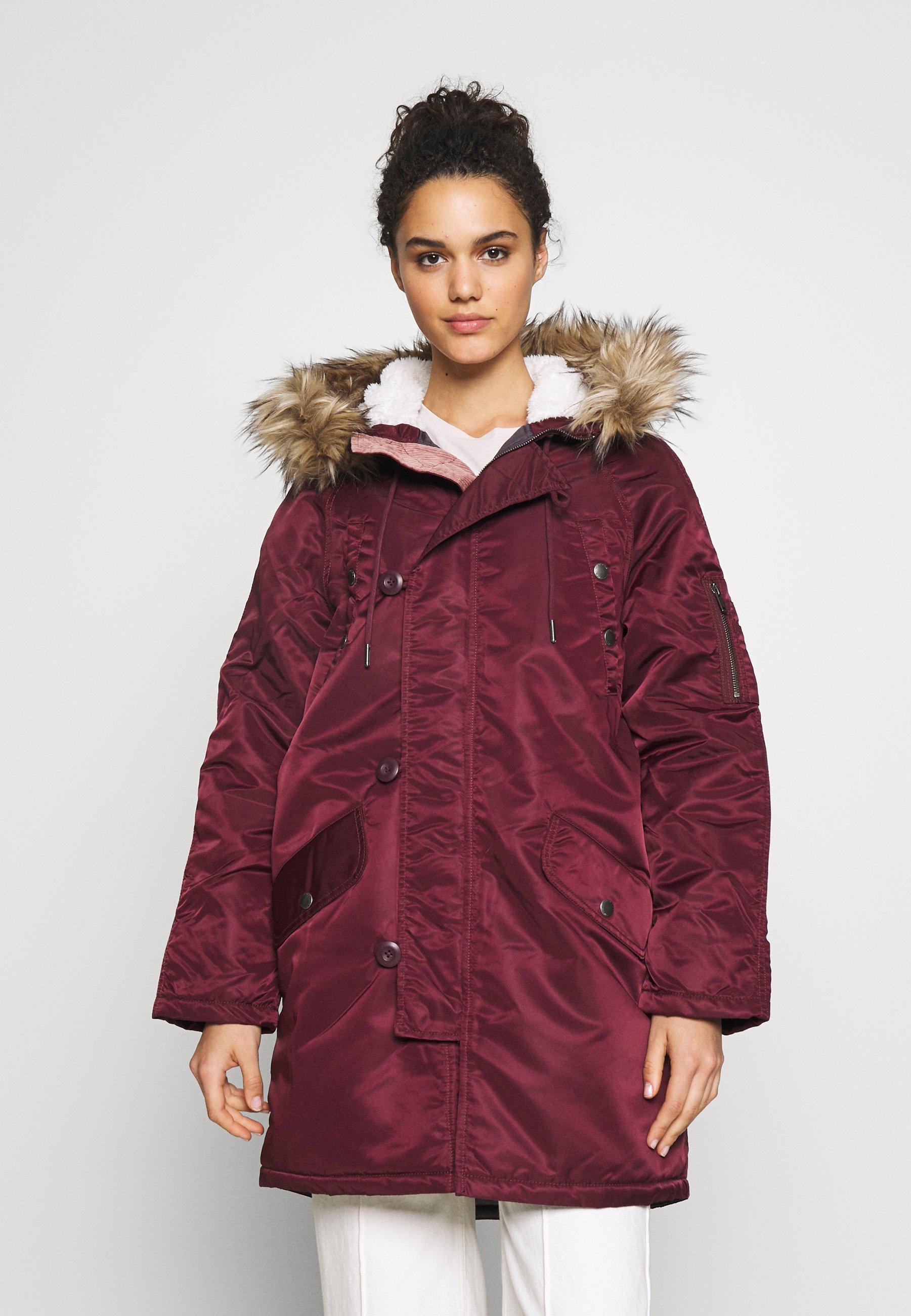 American Eagle FLIGHT  - Veste d'hiver - maroon - Manteaux Femme iIFgJ