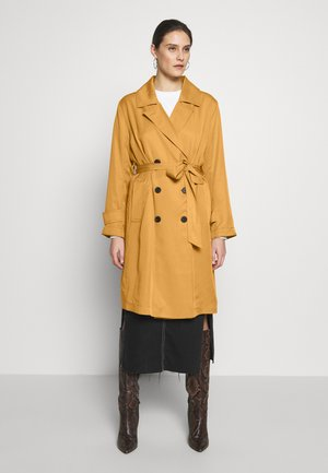TENCEL TRENCHCOAT - Trenčkot - clay beige