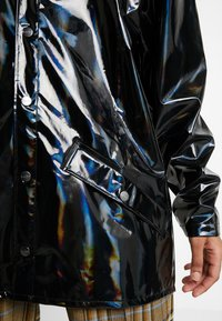 Rains - UNISEX HOLOGRAPHIC JACKET - Impermeable - black - 5