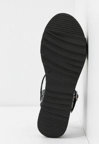 Grand Step Shoes - EDEN - Platform sandals - black - 6