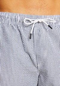 Jack & Jones - JJIARUBA SEERSUCKER  - Swimming shorts - navy blazer - 3