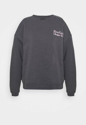 MUSHROOM - Sweatshirt - charcoal