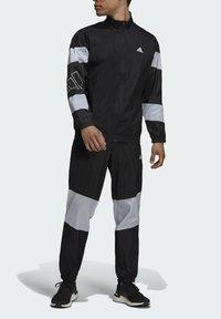 adidas Performance - Tepláková souprava - black/white - 3