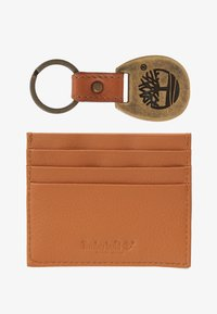 Timberland - CREDIT CARD AND KEY RING GIFT SET - Business card holder - cognac - 1