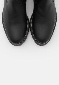 NAE Vegan Shoes - LOU - Vysoká obuv - black - 5