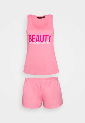 BEAUTY STARTS WITHIN CAMI - Piżama - pink
