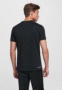 KARL LAGERFELD - IKONIK - Basic T-shirt - black - 2