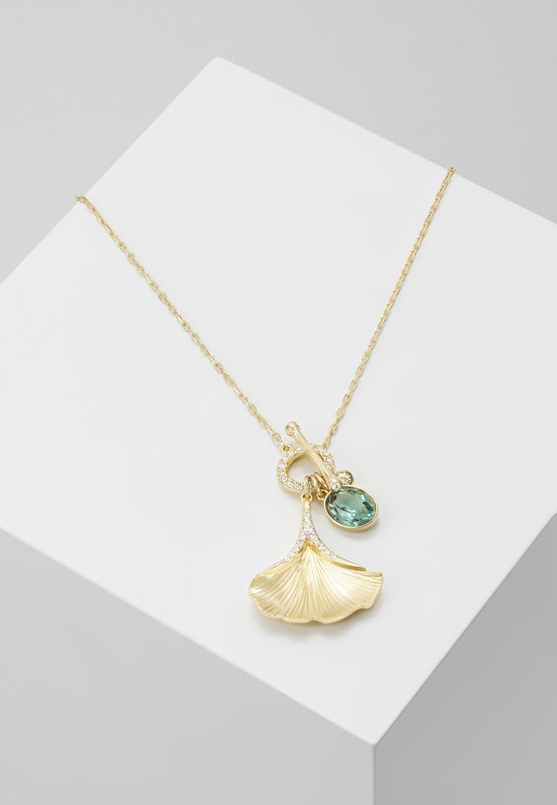 Swarovski - STUNNING NECKLACE GINKO - Necklace - gold-coloured