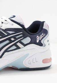 ASICS SportStyle - GEL KAYANO - Sneakers - white/midnight - 2