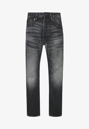 Relaxed fit jeans - sato black denim