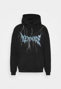 Mennace - LIGHTNING STRIKE HOODIE - Sweater - black - 0