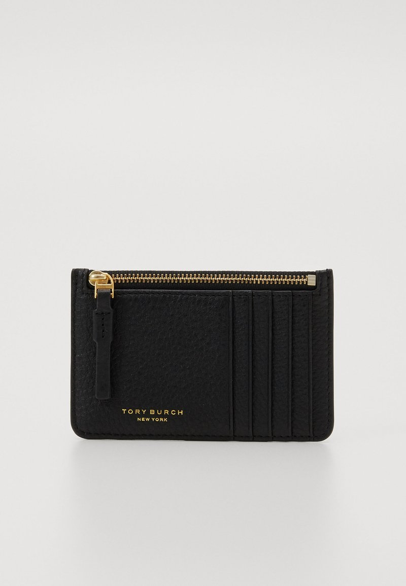 Tory Burch - PERRY CARD CASE - Peněženka - black