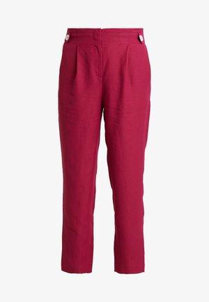 TROUSER - Spodnie materiałowe - sweet raspberry