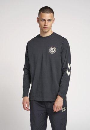 Long sleeved top - dark navy