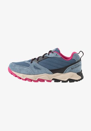 IVO TRAIL - Zapatillas de trail running - zinc/dark fuchsia