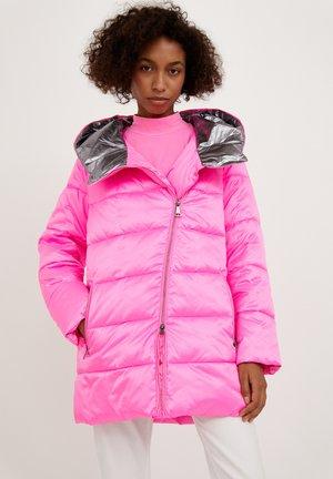 Winter coat - neonpink