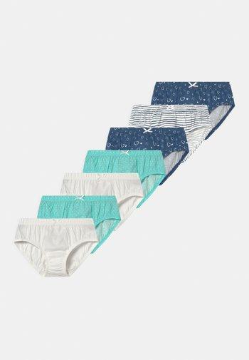 7 PACK - Briefs - dark blue /blue/white