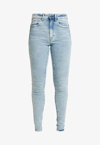 G-Star - LHANA HIGH SUPER SKINNY - Jeans Skinny Fit - sun faded iceberg - 4