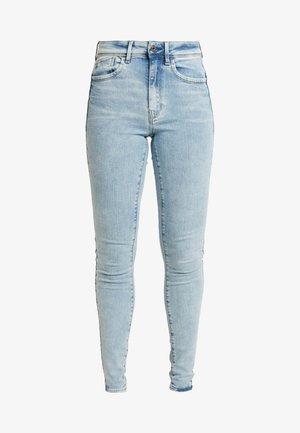 LHANA HIGH SUPER SKINNY - Jeans Skinny Fit - sun faded iceberg