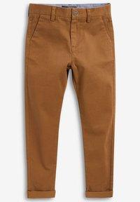 Next - KHAKI CHINO TROUSERS (3-16YRS) - Chino kalhoty - beige - 0