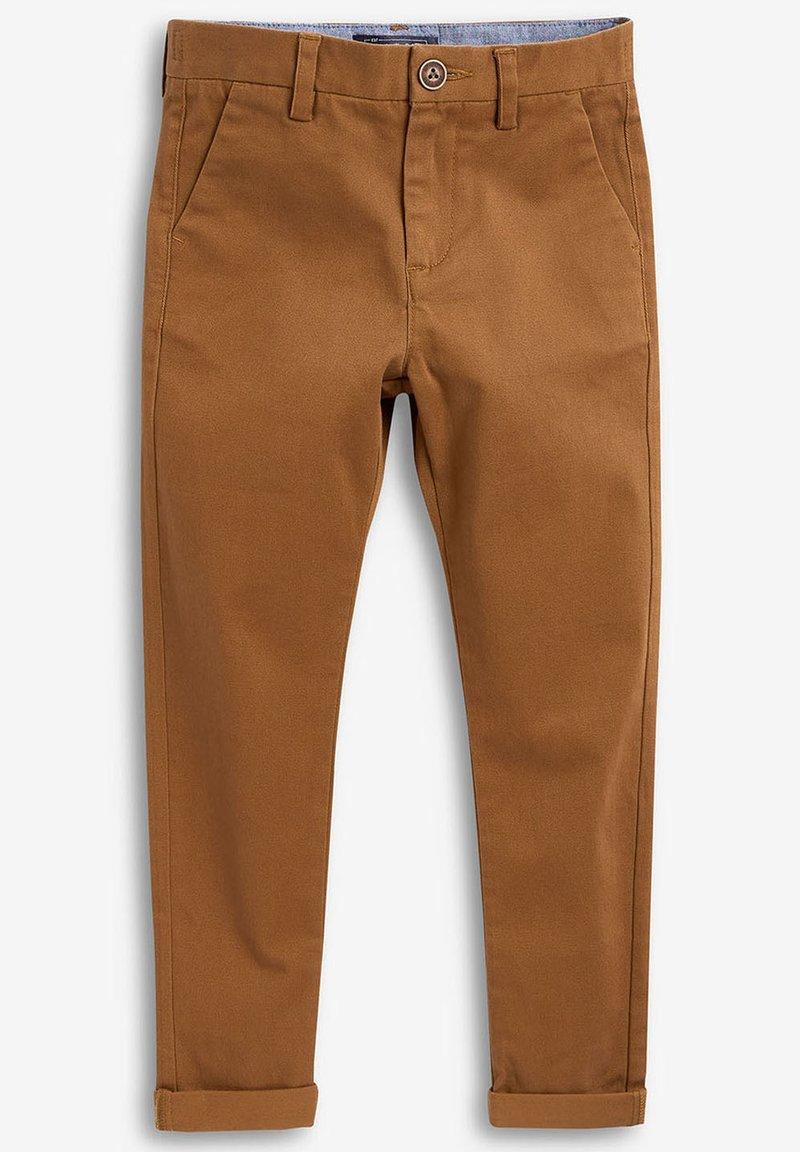 Next - KHAKI CHINO TROUSERS (3-16YRS) - Chino kalhoty - beige