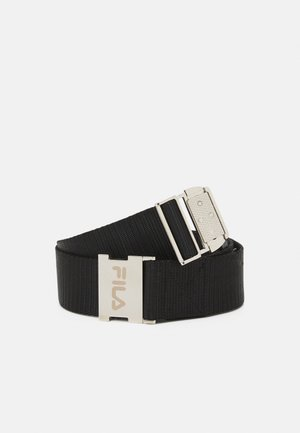 SNAP BUCKLE BELT UNISEX - Pásek - black