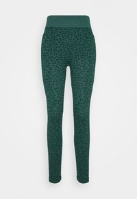 South Beach - LEOPARD SEAMLESS - Leggings - green - 3