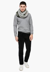 s.Oliver - Snood - grey check - 0