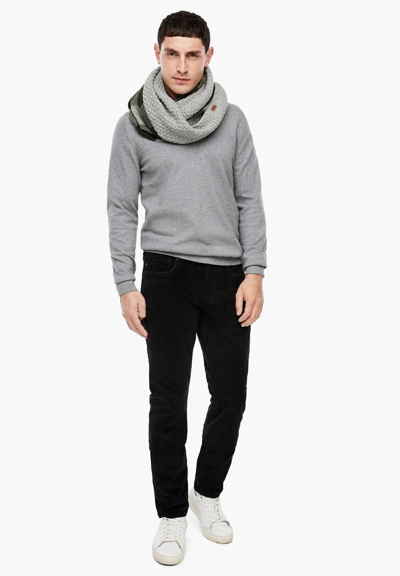s.Oliver - Snood - grey check