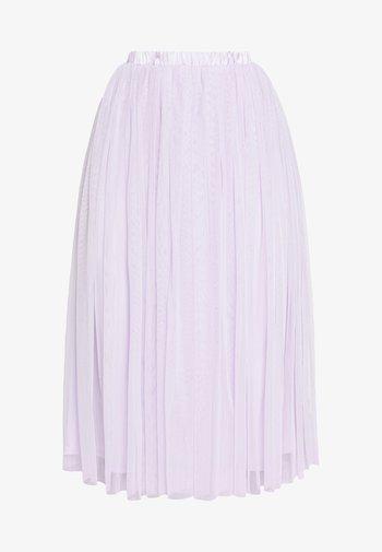 VAL SKIRT - Áčková sukně - lilac