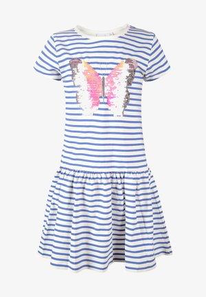 Žerzejové šaty - royal blue
