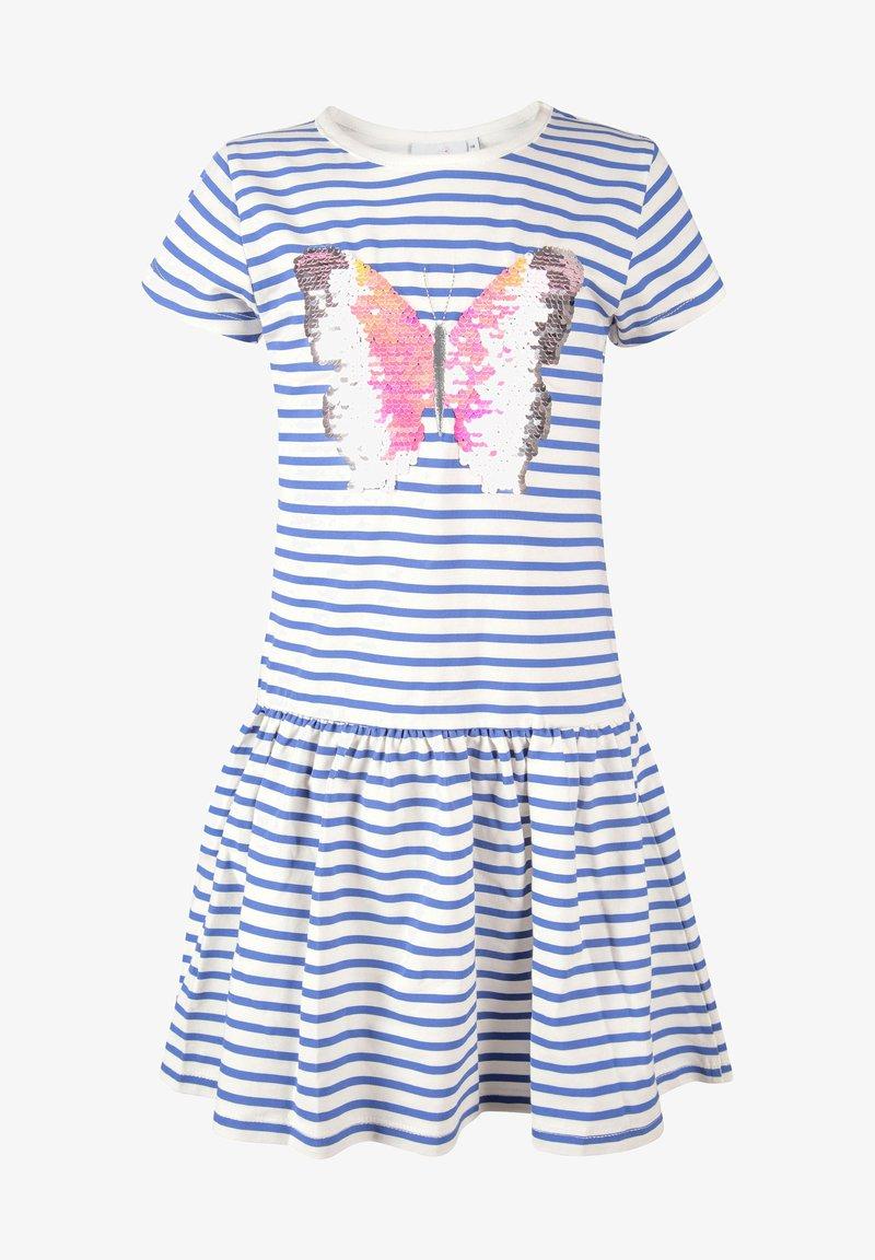 happy girls - Jersey dress - royal blue
