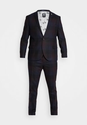 ASHBY SUIT PLUS - Suit - burgundy