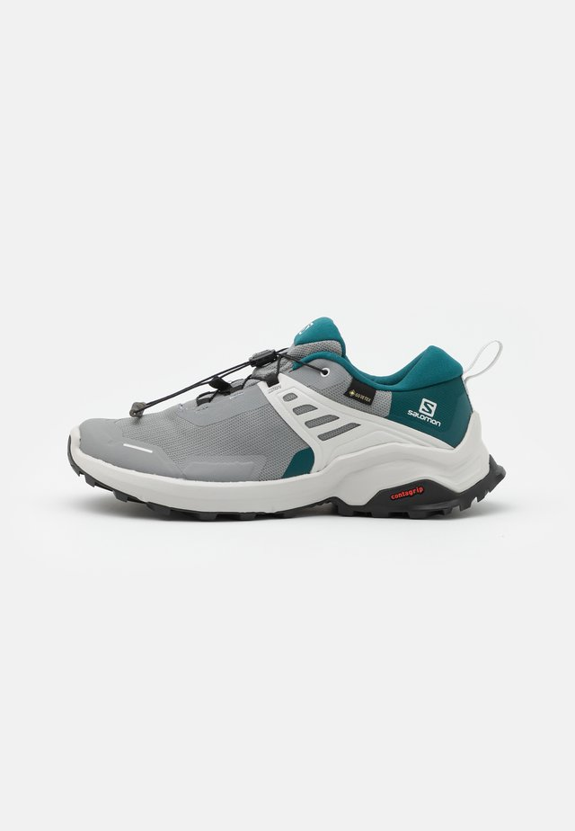 X RAISE GTX - Hiking shoes - monument/deep teal/lunar rock