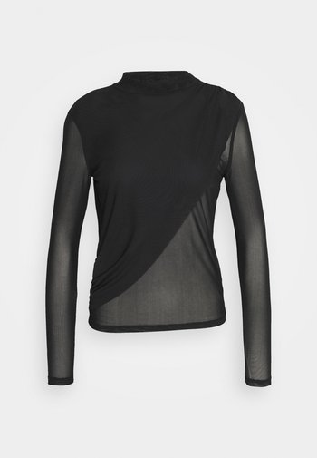 EXTRA LAYER - Long sleeved top - black