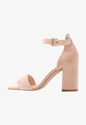 Sandalen met hoge hak - light pink