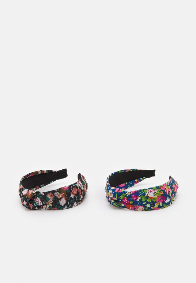 HAIRBAND 2 PACK - Haaraccessoire - black