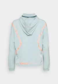 ONLY Play - ONPFERR TRAIN - Chaqueta de entrenamiento - gray mist/neon orange - 8