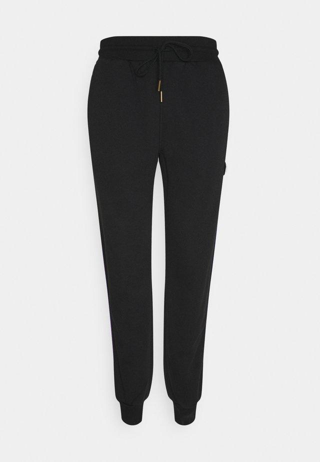 BRAND TRACK JOGGER - Pantalon de survêtement - black