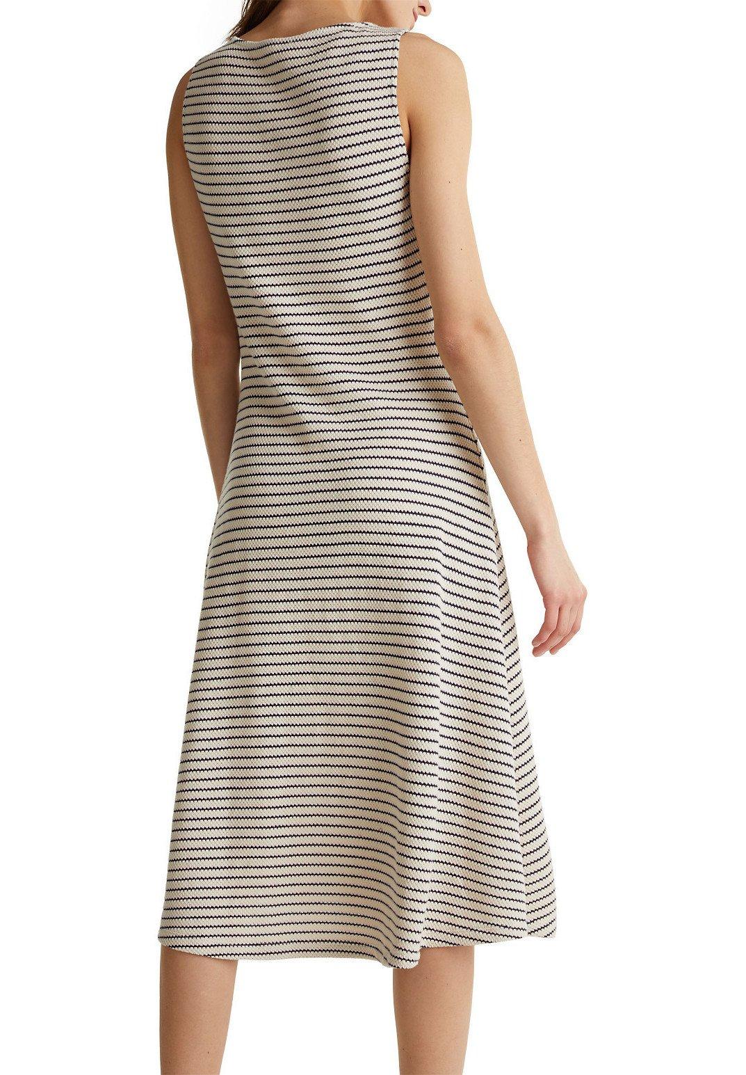 Esprit STRIPES DRESS - Robe pull - sand - Robes femme DZMN6