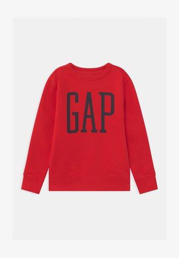 BOY LOGO CREW - Sweatshirt - pure red
