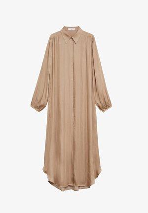 VAMPI-A - Robe longue - beige